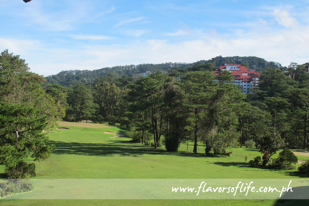 The golf course of Baguio Country Club