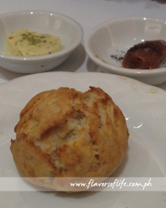 Damper with Wild Thyme-Garlic Butter and Pepperberry-spiced Quince Paste
