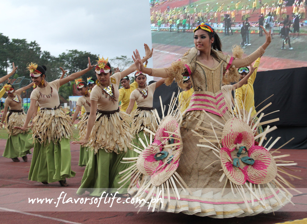 The Ilagan City contingent, which placed second in the Grand Dance Showdown, during the parade