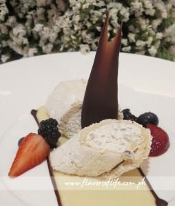 Oz Pavlova 2013 with Wattle Seed Cream and Sugar Bark