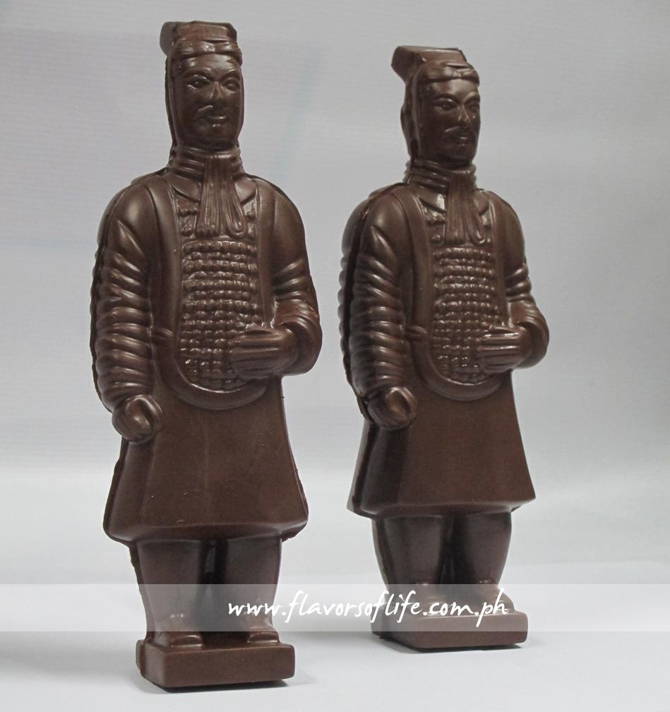 Chocolate Warriors as take-home presents