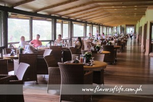 Breakfast is a pleasure at the Verandah of Baguio Country Club