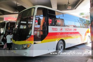 The deluxe coach of Victory Liner traveling nonstop from Baguio to Manila takes less than five hours to reach the Cubao terminal
