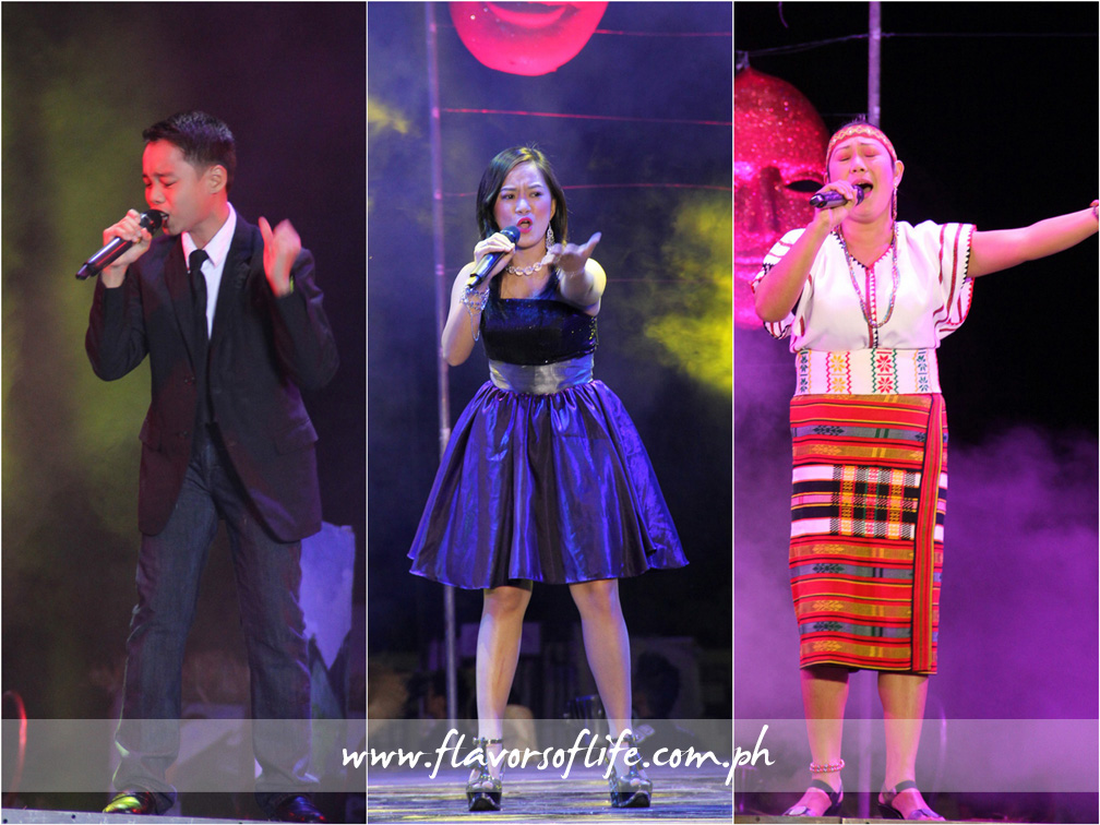 The Search for the Isabela Singing Idol winners from San Manuel (first place), Tumauini (second place) and Benito Soliven (third place)