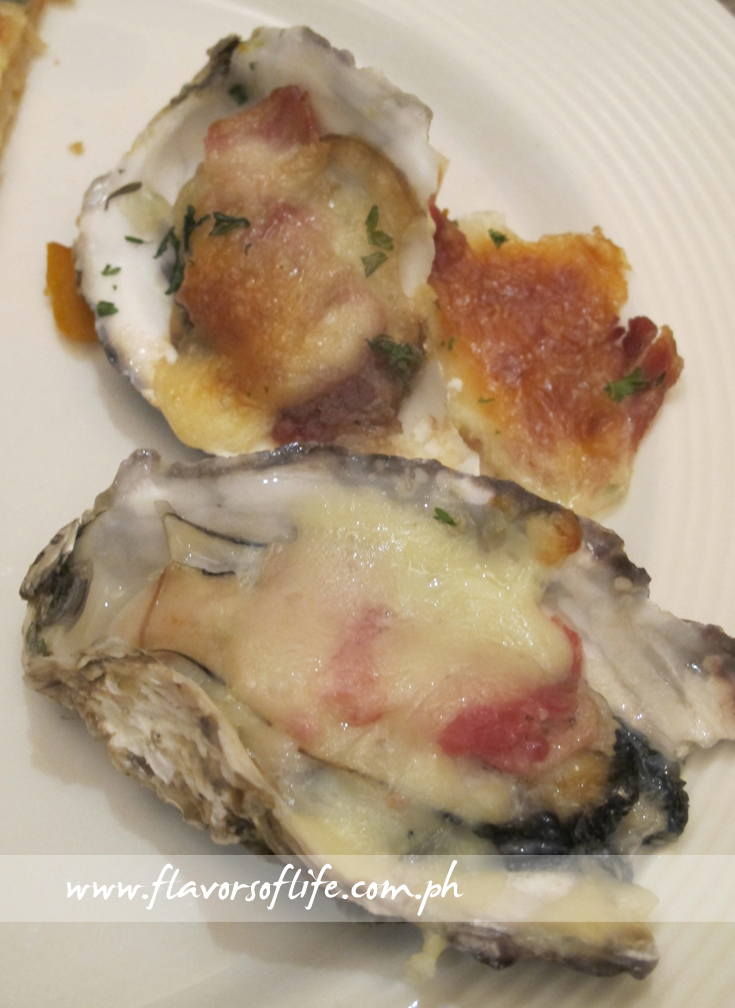 Oyster with Garlic and Cheese