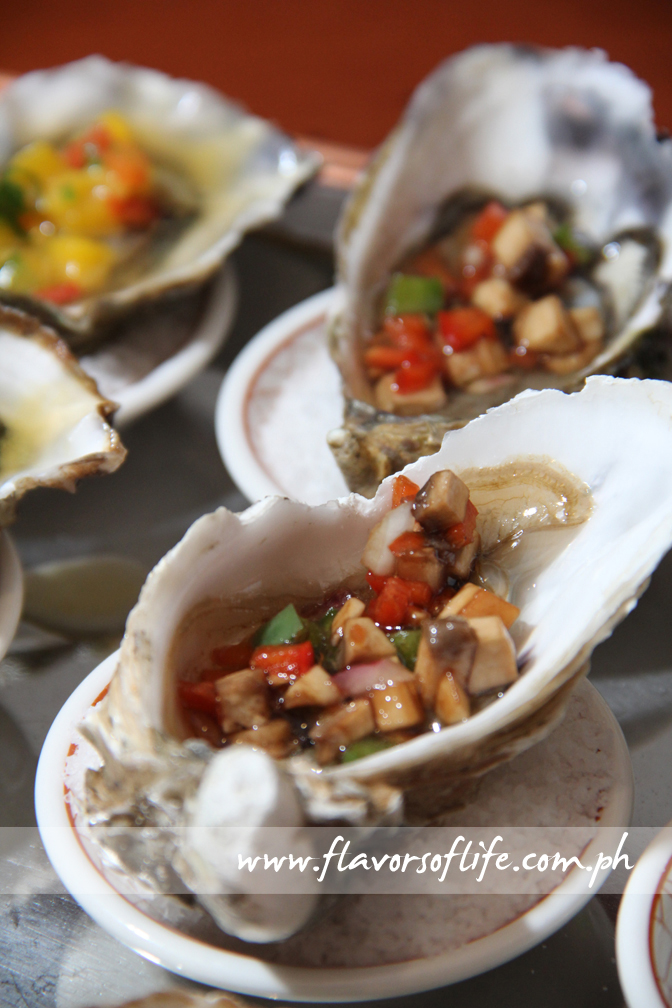 Fresh Oyster with Ratatouille