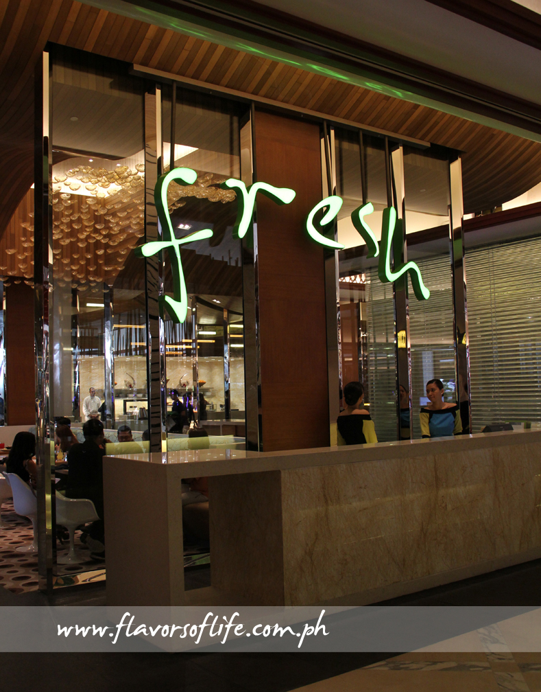 Fresh Café, the all-day dining facility at Solaire, serves extremely impressive lunch and dinner buffets