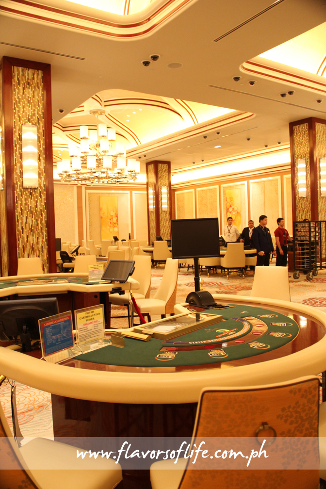 Solaire Club is an exclusive gaming area at the casino