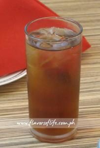 Iced Japanese Toasted Rice Tea