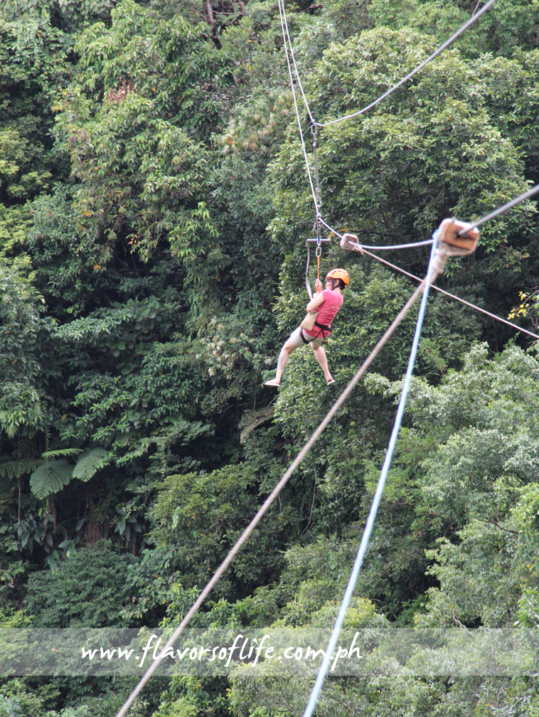The fastest zipline in the country, taking all of 12 seconds from one end to another of the 200-meter zipline at a speed of 60KPH