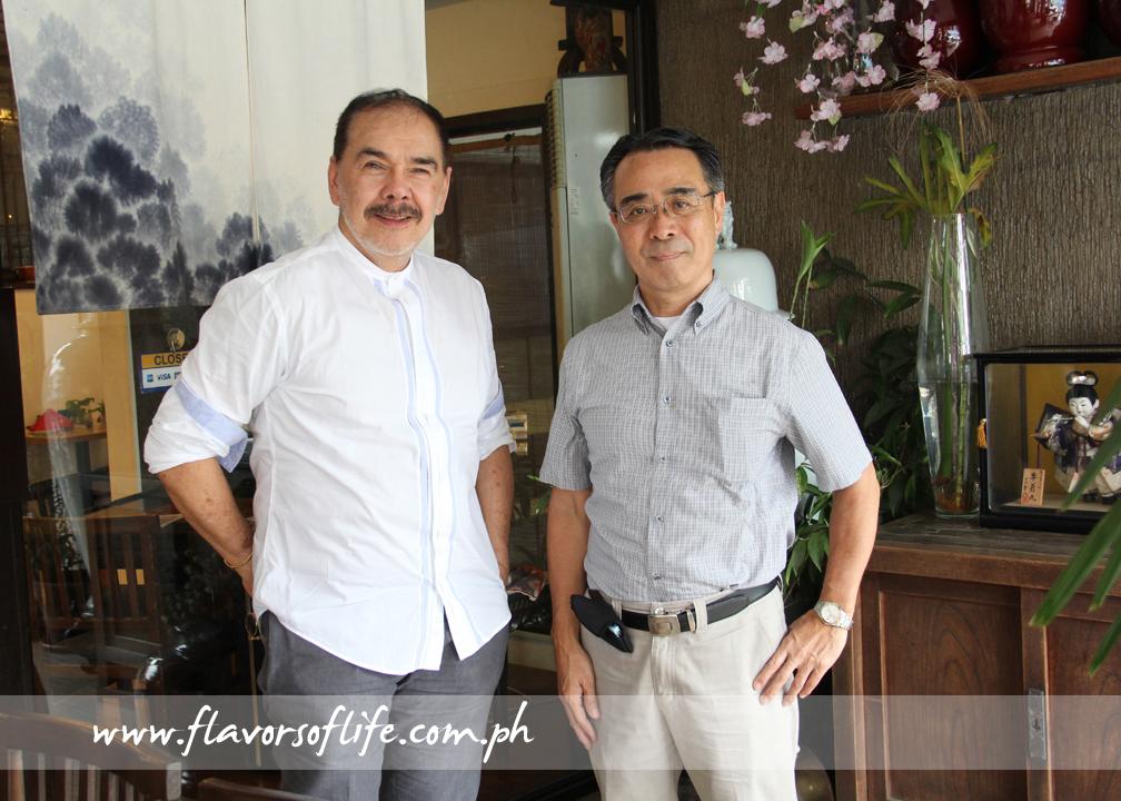 Doctor-turned-restaurateur Dr. Efren 'Doc Boy' Vazquez and his business partner Chef Tom Yamazaki are the brains behind Haru Sushi Bar & Restaurant