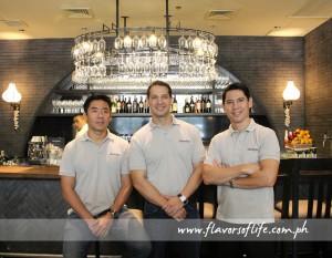 Global Restaurant Concepts Inc.'s top honchos Manuel Zubiri, Archie Rodriguez and Griffith Go