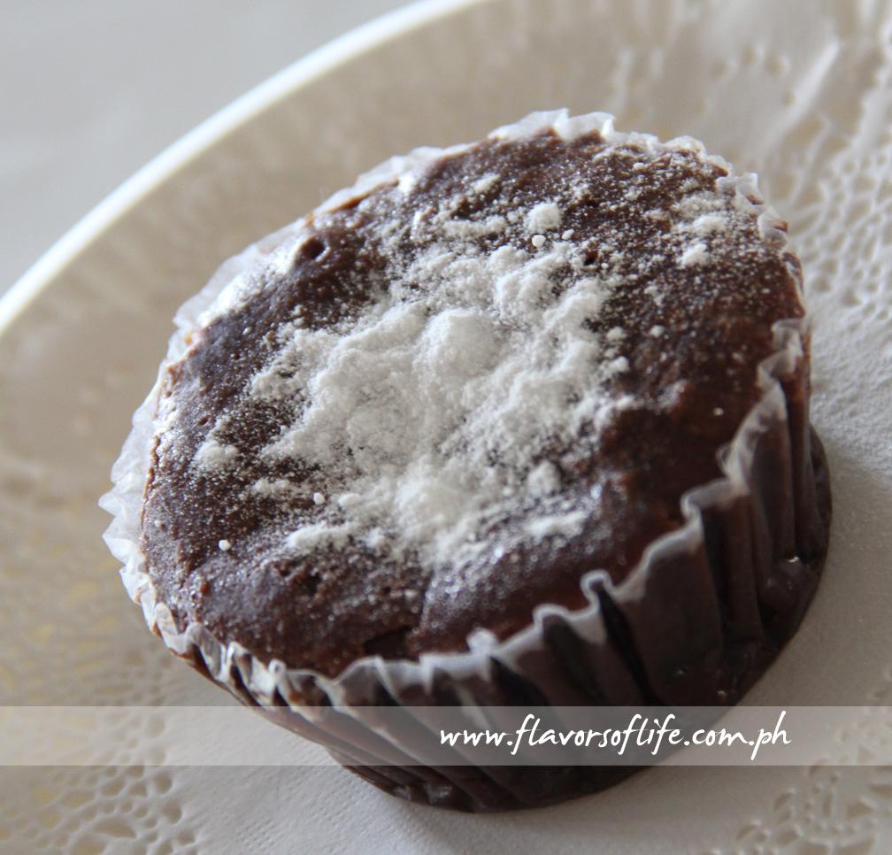 Decadent Valrhona Chocolate Cupcake