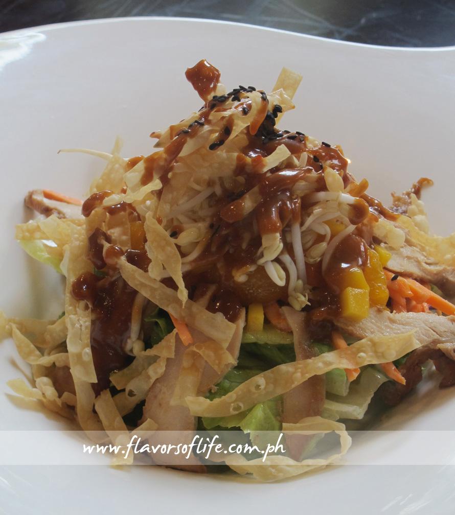 Oriental Mango Chicken Salad
