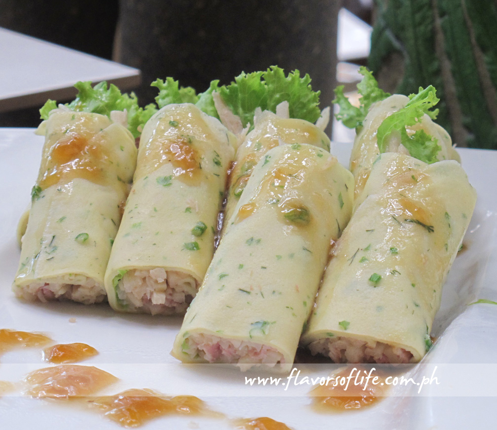 Lumpiang Sariwa with Soy Garlic Jelly