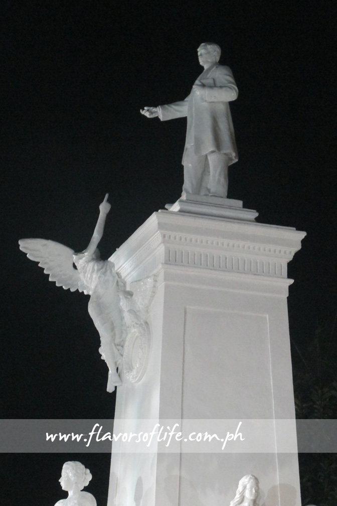 Monument of Dr. Jose Rizal at Plaza Rizal