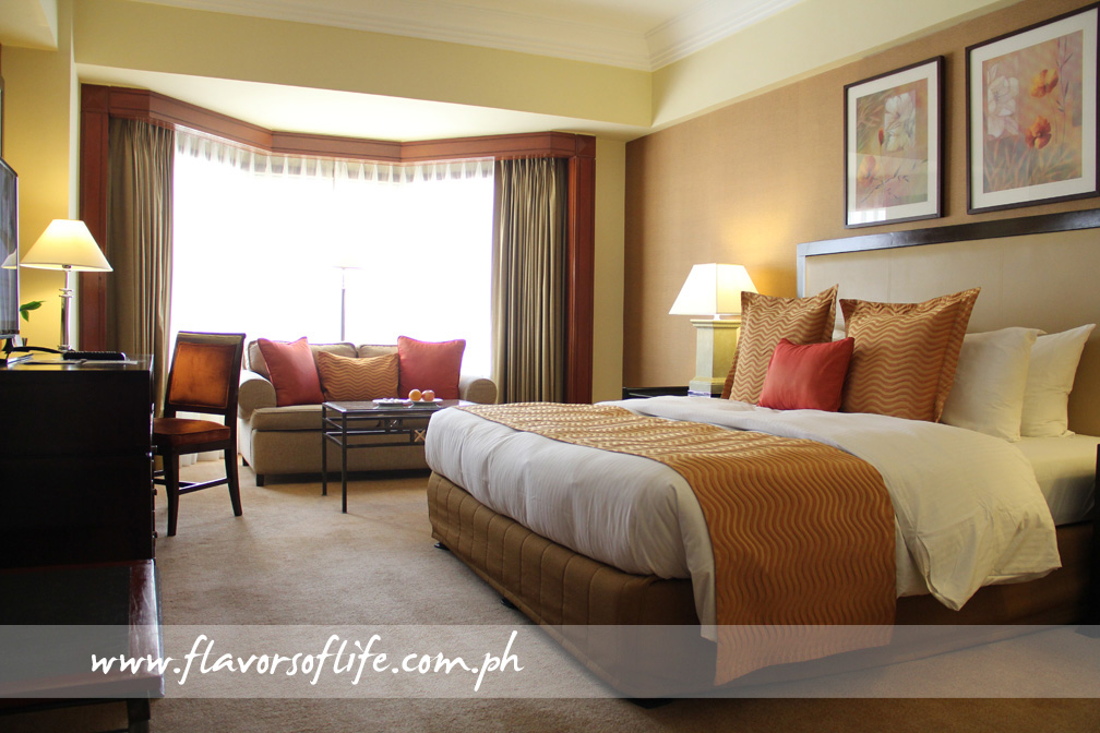 Warm and cozy room at Diamond Hotel Philippines