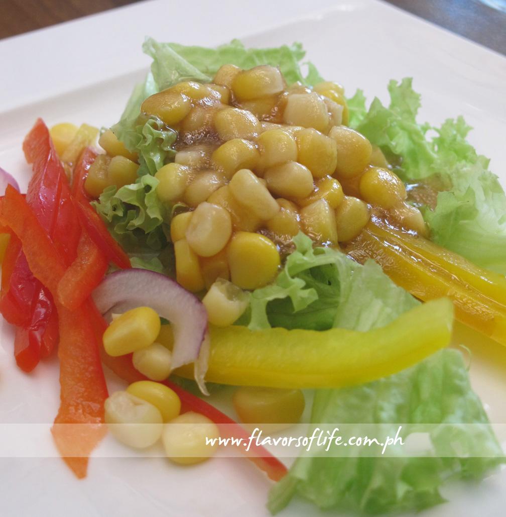 Raff's Garden Fresh Salad with Guava Vinaigrette