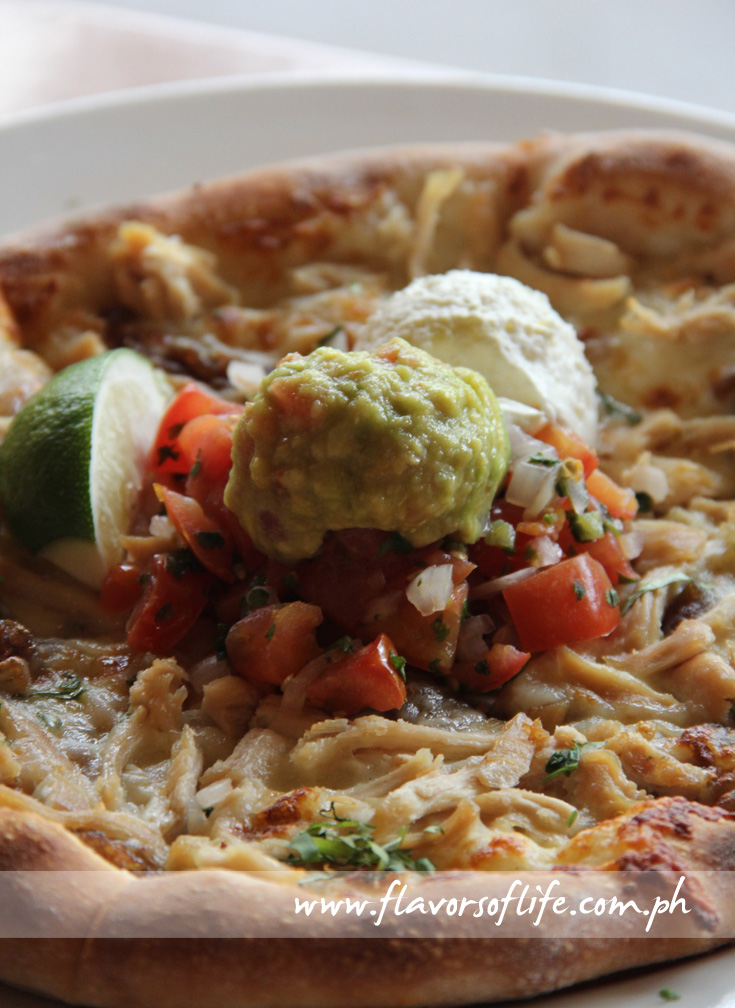 Santa Fe Chicken Pizza