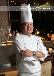 Head chef Jerry Montenegro Cruz
