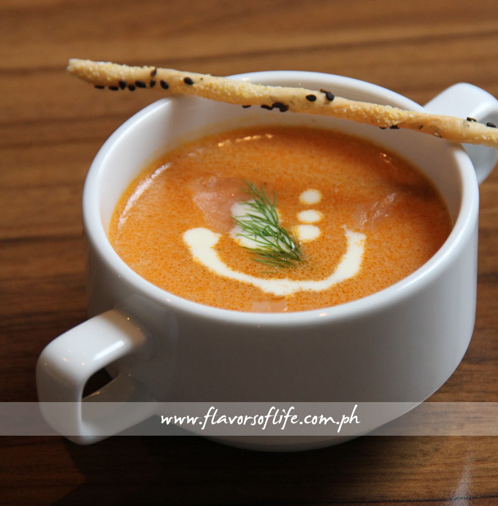 Salmon-Lobster Soup