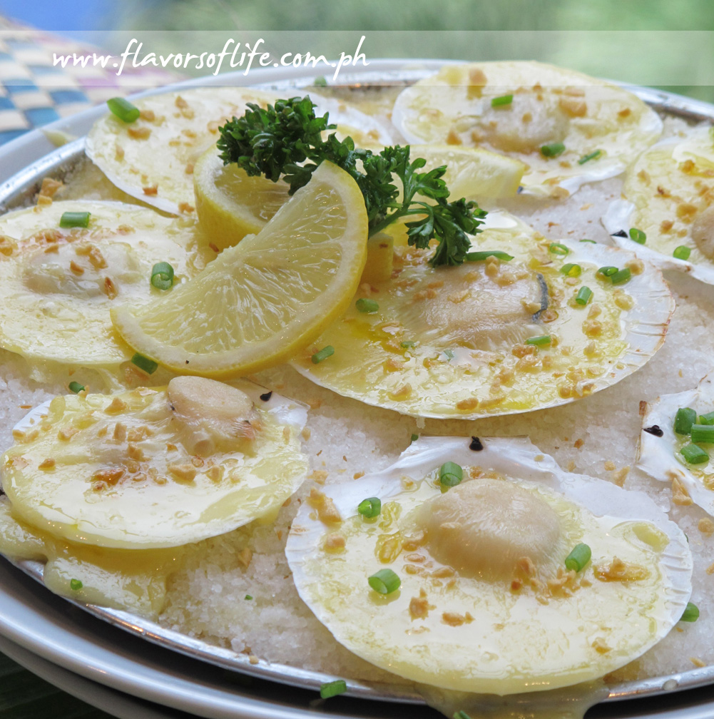Magellan or Baked Scallops with Garlic and Cheese (Corazon)