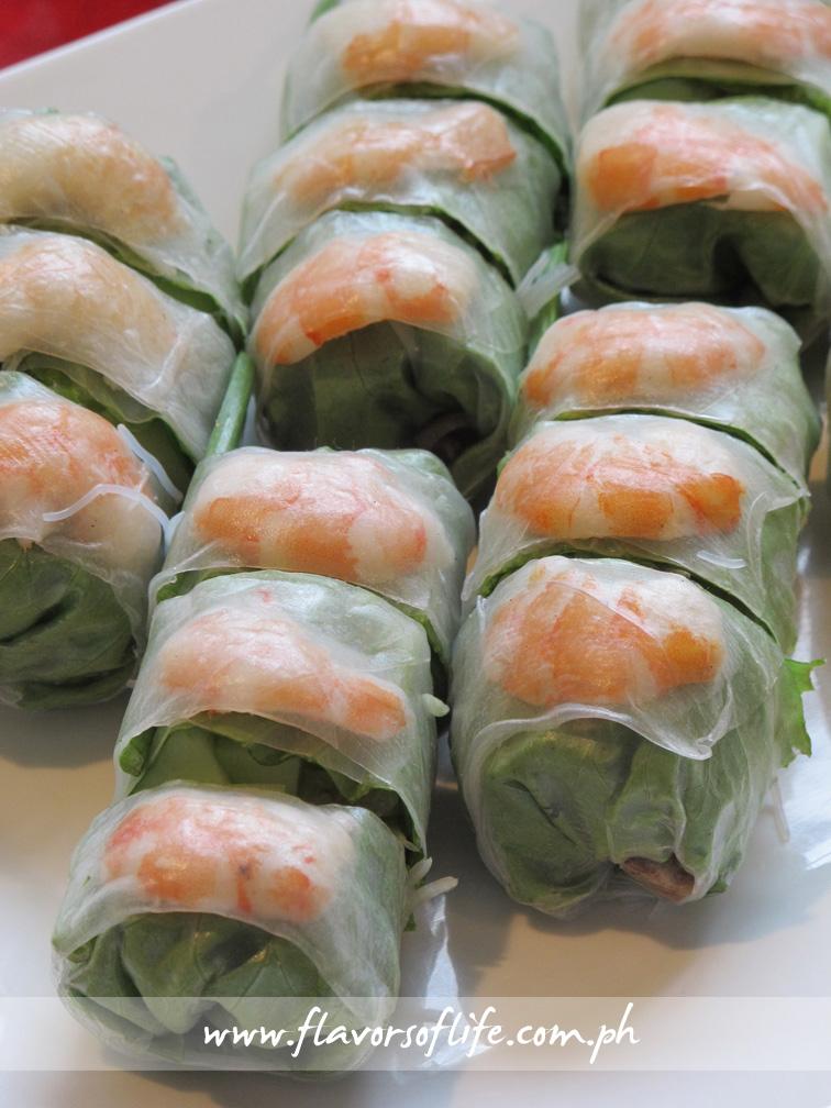 Zao Vietnamese Bistro's Spring Rolls