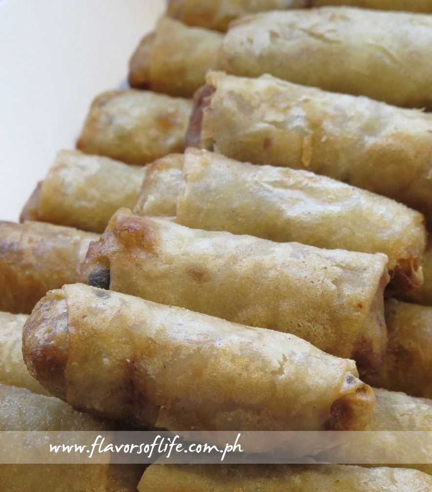 Fried Spring Rolls (Zao)