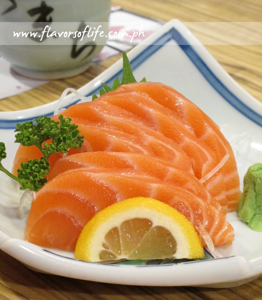 Haru's Salmon Sashimi