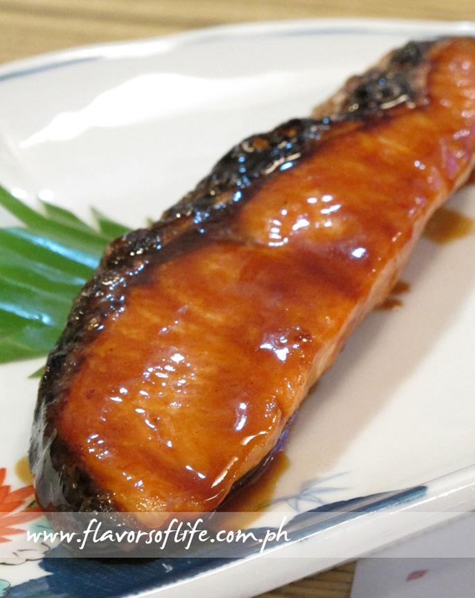 Sake or Salmon Teriyaki