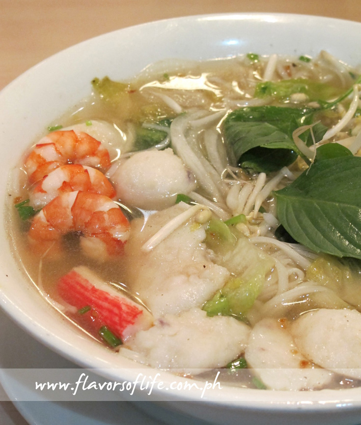 Seafood Pho or Noodle Soup