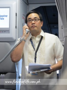 PAL's SVP for operations Ismael Augusto Gozon