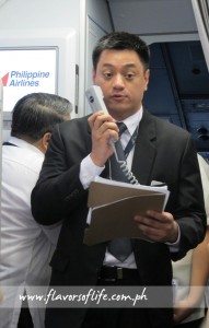 PAL's head of Philippine sales Salvador Britanico Jr.