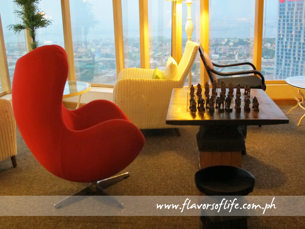 Chess area of the Executive Lounge