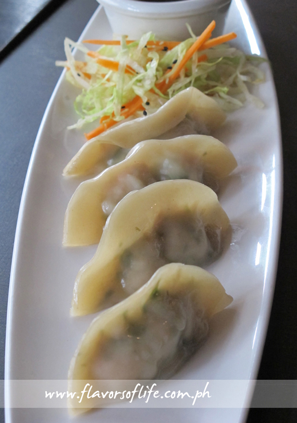 Lemon Grass Chicken Dumplings