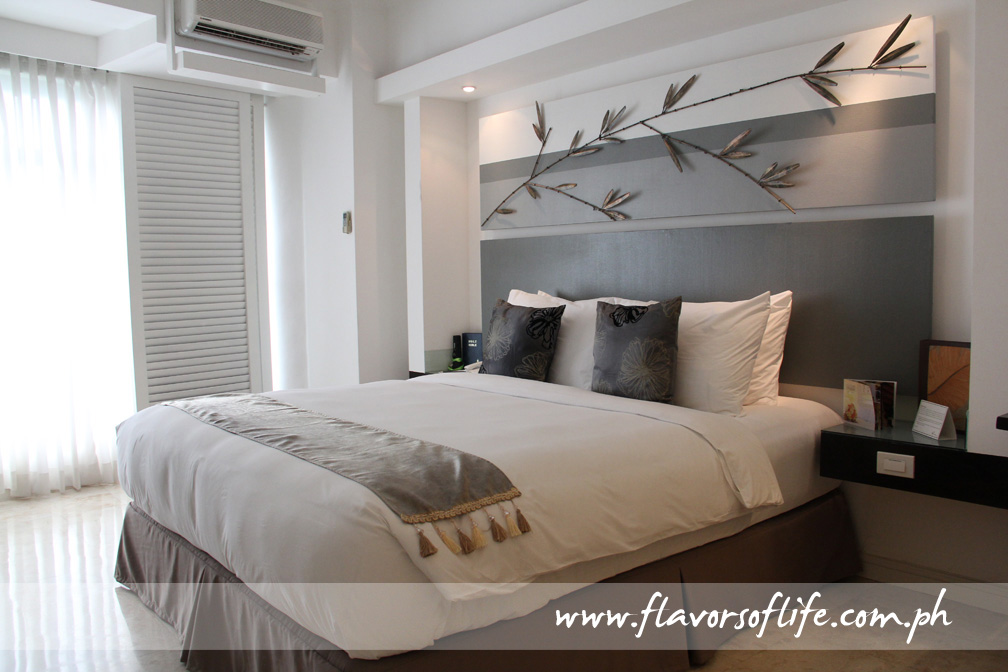 Exquisite bedroom in a Penthouse Club Floor unit of Vivere Hotel & Resorts