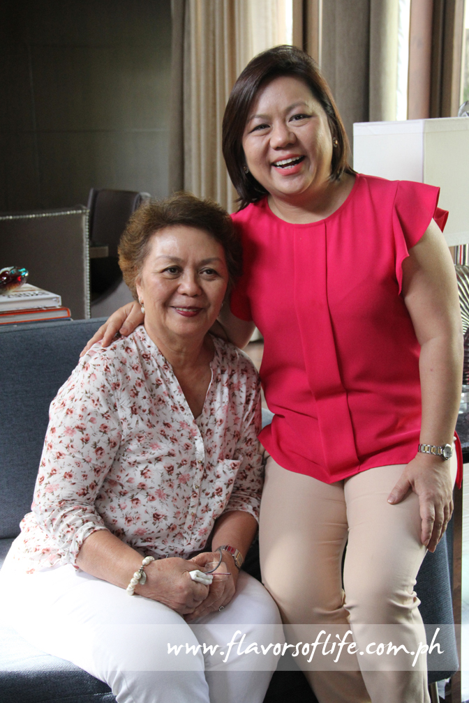 The mother-and-daughter team of Susana 'Annie' Guerrero and Marinela 'Badjie' Guerrero-Trinidad behind The Cravings Group