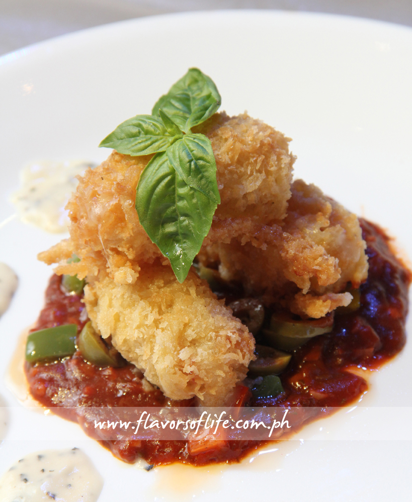 Pasta Croquettes by Center for Culinary Arts-Oceana Branch