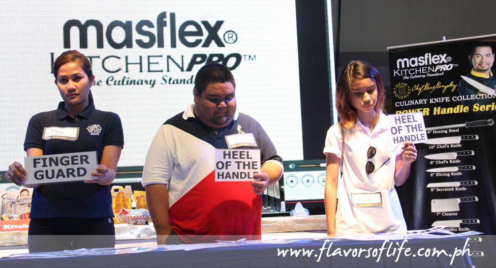 The Masflex KitchenPro Knife Anatomy Contest