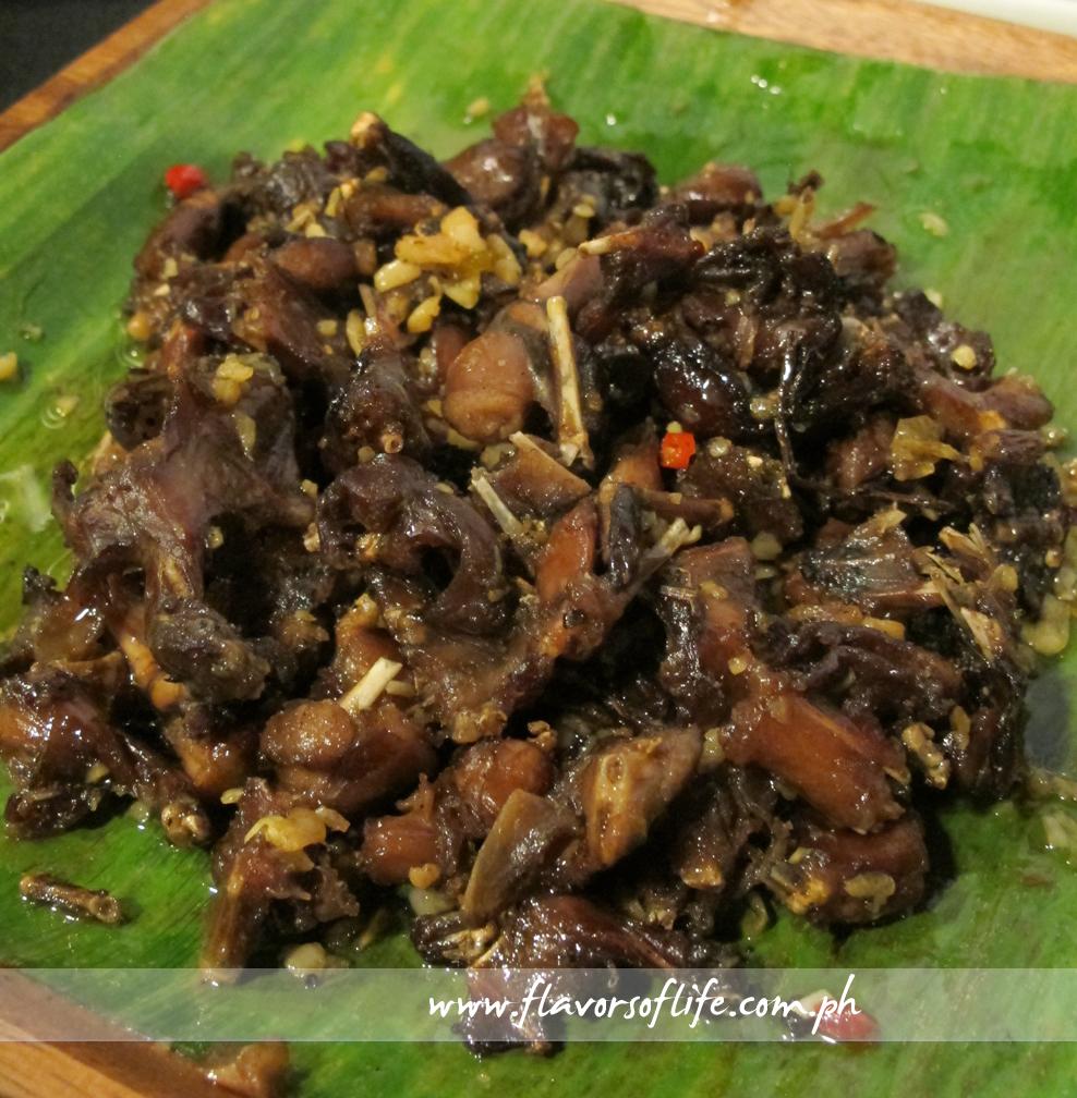 Chili Garlic Betute (Frog's Legs)