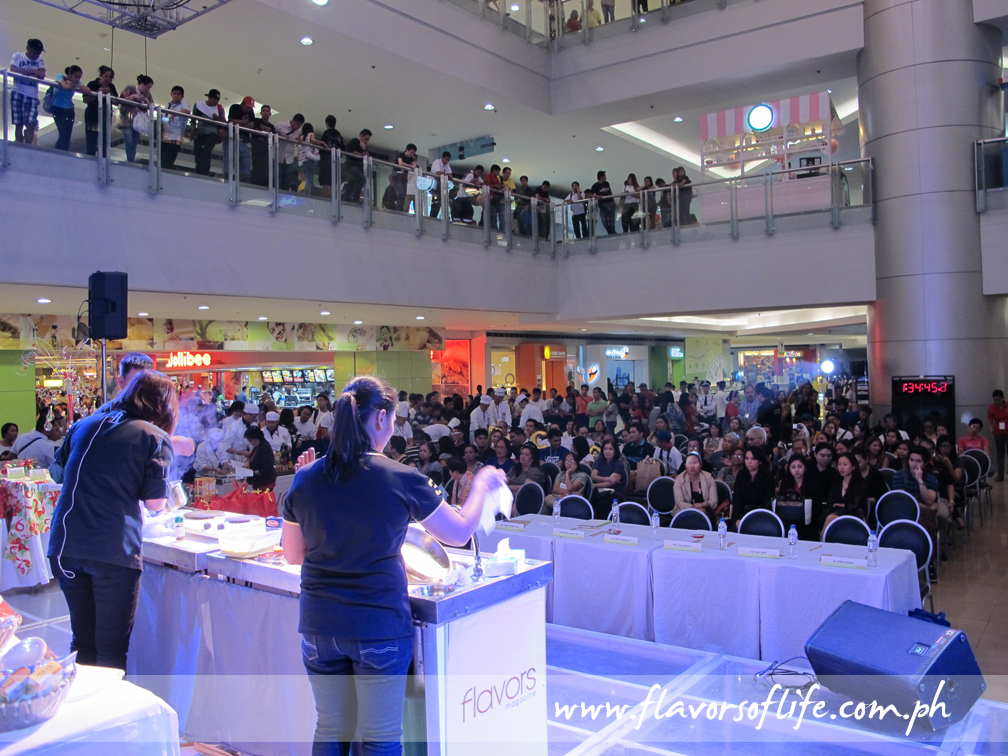 FLAVORS Culinary Challenge 2013 gets underway at the Event Center of SM Megamall