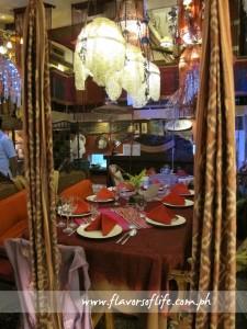 A cozy dining area at Café Juanita