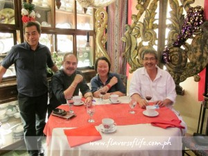 With Dr. Efren Vazquez and Chef Rafael Jardeleza II