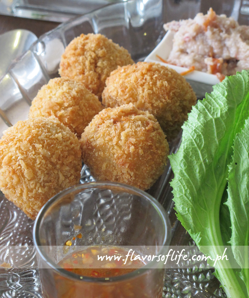 Crispy Hito Balls with Mustasa and Buro