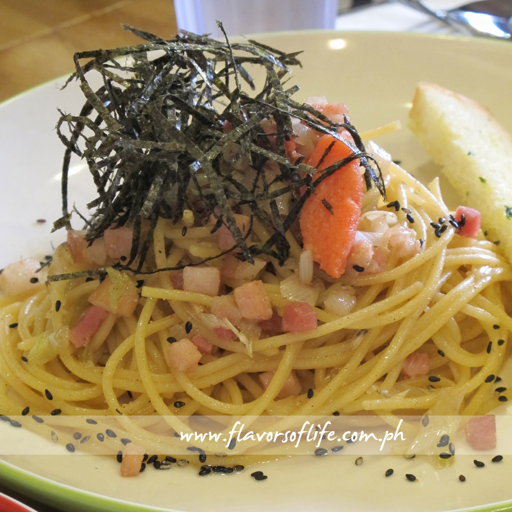 Mentaiko Pasta (Cafe Shibuya)