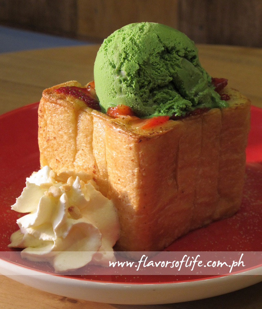 Strawberry Matcha Toast (Cafe Shibuya)