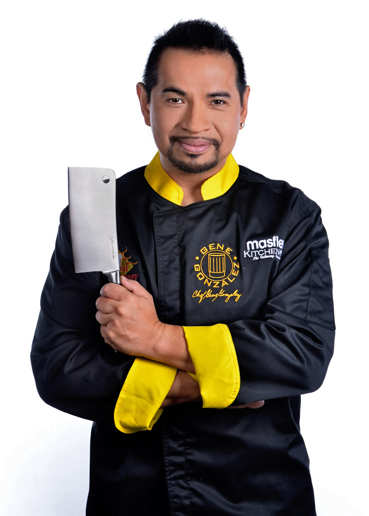 Chef Gene Gonzalez designed and tested the newly launched Masflex KitchenPro Culinary Knife Collection