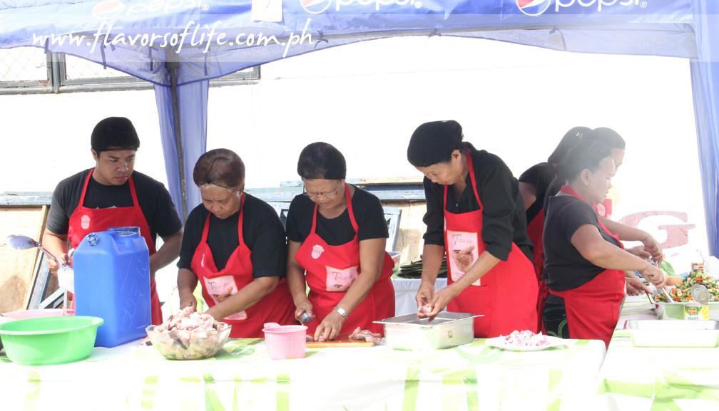 Team No. 7 was Barangay Nutrition Scholars of Sta. Barbara, Iloilo