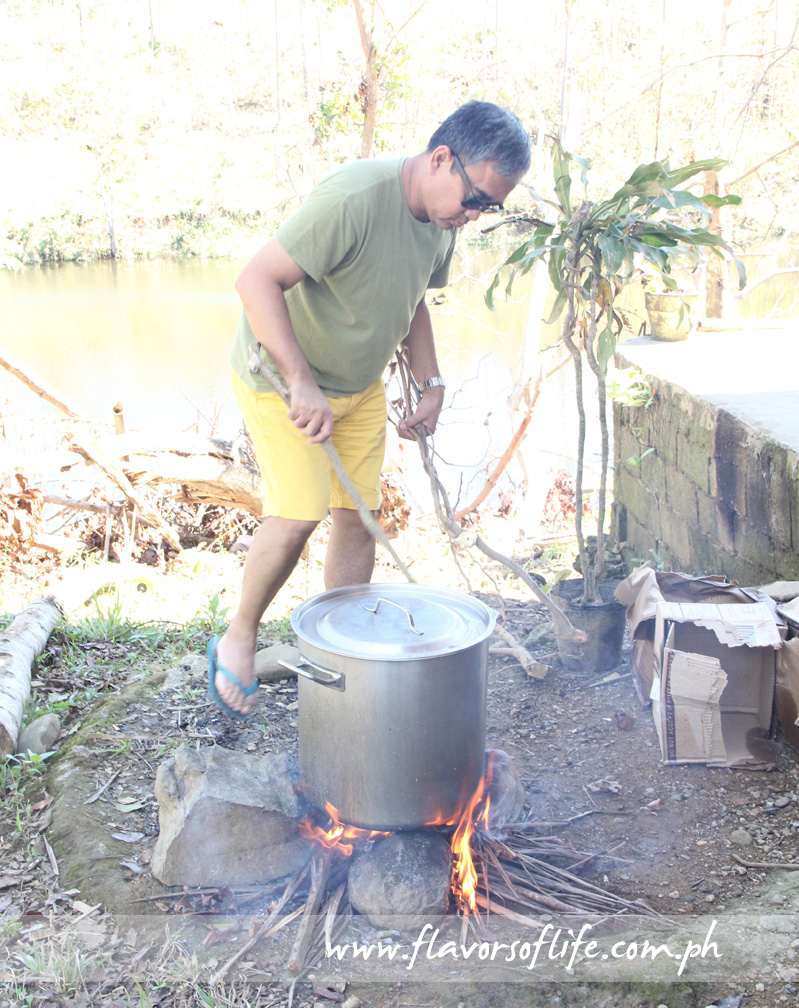Ige Ramos heating up the soup