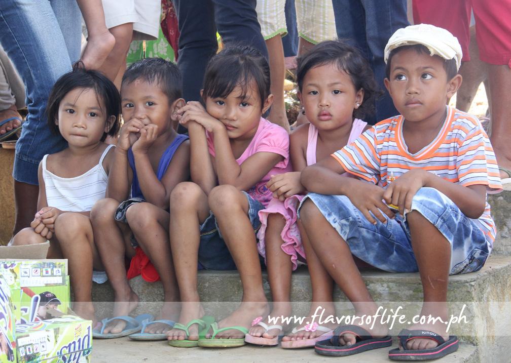 The kids in the neighboring communities